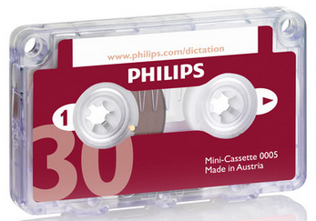 PSP-LFH0005/60 PHILIPS 0005 30 MINUTE MINI CASSETTE (was lfh0005)