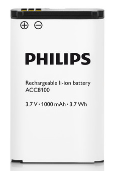 PSP-ACC8100 PHILIPS Li-ion BATTERY FOR DPM8000 SERIES (DPM8000/8100/8500)