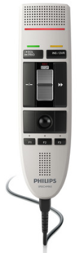 PSP-LFH3210/00 PHILIPS SPEECHMIKE III CLASSIC W/INT SLIDE SWITCH (RECORD,STOP,PLAY,REWIND),SPEECH CO NTROL V2.7 SOFTWARE, ANTIMICROBIAL HOUSING,TRACKBALL CONFIRMATION