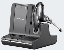 PLN-83543-11 PLANTRONICS W730 SAVI 3 IN 1 OVER THE EAR HEADSET UC SYSTEM, DECT 6.0