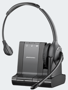 PLN-83545-01 PLANTRONICS SAVI W710 SAVI OFFICE OVER THE HEAD WIRELESS HEADSET