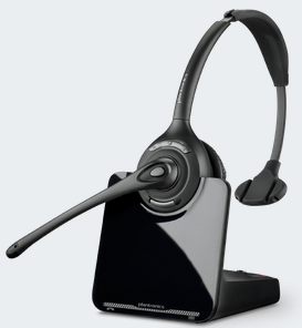 PLN-88284-01 PLANTRONICS CS510XD 900 MHz OVER THE HEAD MONAURAL HEADSET, 350FT RANGE, DESIGNED FOR EXTREME DENSITY