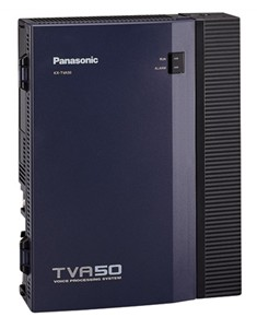 PAN-KX-TVA50 PANASONIC BASIC CABINET 2 PORTS EXPANDABLE TO 6 PORTS 4 HOURS STORAGE EXPANDABLE TO 8, 64 MAILBOXES 1 USB PORT ************************* SPECIAL ORDER ITEM NO RETURNS OR SUBJECT TO RESTOCK FEE *************************