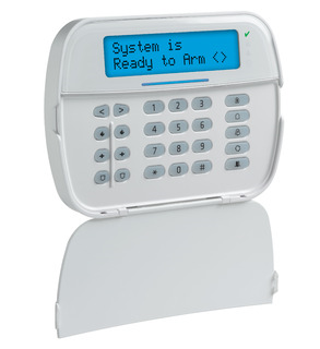 DSCHS2ICNPENG DSC NEO ICON Hardwired Keypad with English function keys and Prox Support. Compatible with the HS2016, HS2032, HS2064 and HS2128 control panels.