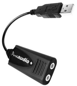 AND-C1-1021450-1 ANDREA USB-SA STEREO USB AUDIO ADAPTER