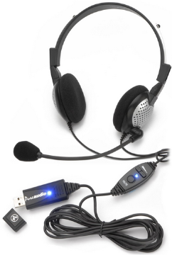 AND-C1-1022600-1 ANDREA NC185VMUSB USB PC NOISE CANCELLING HEADSET