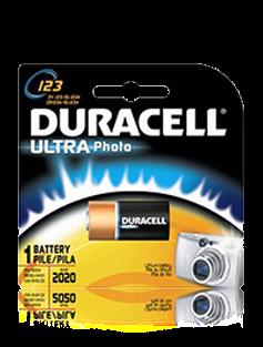 DUR-PL123A DURACELL 3.0 VOLT LITHIUM BATTERY