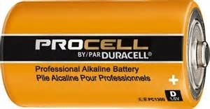 PC1300 DURACELL PROCELL D