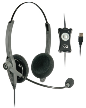 VXI-203009 VXI TalkPro USB2 BINAUARAL HEADSET
