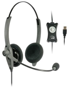 VXI-203009 VXI TalkPro USB2 BINAUARAL HEADSET