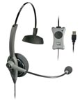 VXI-203011 VXI TALKPRO UC1 MONAURAL HEADSET, OPTIMIZED FOR SPEECH RECOGNITION, UNIFIED COMMUNICATIONS INLINE DSP, ECHO CANCELLATION, MUTE, VOLUME & ANSWER/END CALL CONTROL,NO QUICK DISCONNECT