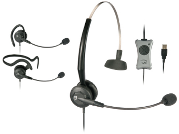 VXI-203013 VXI TalkPro UC3 UNIFIED COMMUNICATIONS CONVERTIBLE USB HEADSET, OPTIMIZED FOR SPEECH REC & UC (NO QD) INCLUDES INLINE DSP, ECHO CANCELLATION,MUTE,VOLUME AND ANSWER/END CONTROL