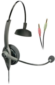 VXI-203014 VXI TALKPRO SC MONAURAL HEADSET FOR PC SOFT PHONES DESIGNED VOIP