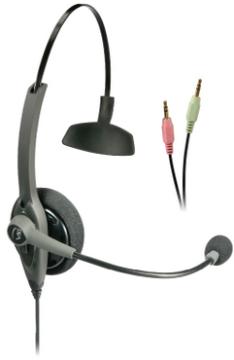 VXI-203014 VXI TALKPRO SC MONAURAL HEADSET FOR PC SOFT PHONES DESIGNED VOIP