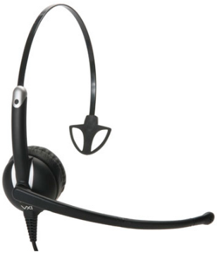 VXI-203352 VXI ENVOY MONO USB HEADSET FOR UC, N/C MICROPHONE, INLINE CONTROL (VOL,CALL,MUTE)