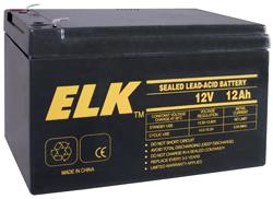 ELK12120 ELK 12V 12AMP RECHARGABLE BATTERY