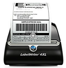 DYM-1755120 DYMO LabelWriter 4XL PRINTS LARGE LABELS INCLUDING 4X6 ALL IN ONE LABELS,