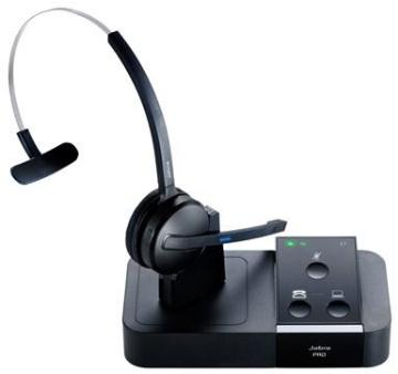 GNN-PRO9450 JABRA 9450-65-507-105 PRO 9450 DECT WIRELESS AND BASE UNIT WITH MONO HEADBAND OR EARHOOK WEARING STYLE, MIDI BOOM, NC, SUPPORTS DESKPHONE OR PC CONNECTIVITY