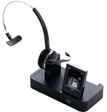 GNN-PRO9460 JABRA 9460-65-707-105 MONAURAL FLEX BOOM HEADSET WITH BASE UNIT, NOISE CANCELLING, US DEC T