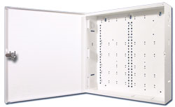 "ELKSWB14 ELK STRUCTURED WIRING BOX 14.25"" SQUARE C 3.5"" W/DOOR & CAMLOCK"