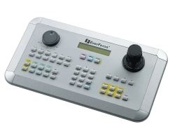 EKB500 EVERFOCUS TOTAL CONTROL KEYBOARD, PTZ/DVR/MONITOR, 256 DOMES, PRESETS ************************* SPECIAL ORDER ITEM NO RETURNS OR SUBJECT TO RESTOCK FEE *************************