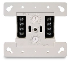 EDFX-RLY EDWARDS MODULE AUX RELAY, 1-FORM C, DOUBLE-GAND MT, FIREWORX ANALOG/ADRS, ROTARY DIALS