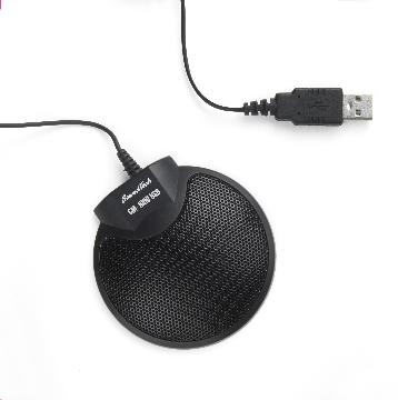 VEC-CM1000USB VEC CONFERENCE MICROPHONE DAISY CHAIN CAPABILITY AND 360 DEGREE PICKUP WORKS WITH PC DESKTOP & HANDHELD RECORDING APPLICATIONS AND USB CONNECTION