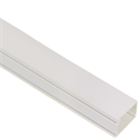 "ICRWR12SWH ICC 1 1/4"" RACEWAY 6' LENGTH WHITE EACH - 20/PK (PURCHASE PACK, SOLD INDIVIDUALLY)"