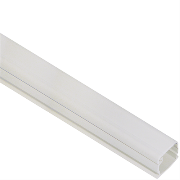 "ICRWR11SWH ICC 3/4"" RACEWAY 6' LENGTH WHITE (PURCHASE PACK, SOLD INDIVIDUALLY)"