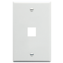 IC107F01WH ICC FACE PLATE 1 PORT WHITE
