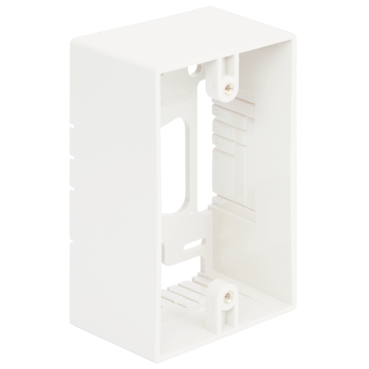 IC107MRSWH ICC SINGLE GANG MOUNTING BOX WHITE
