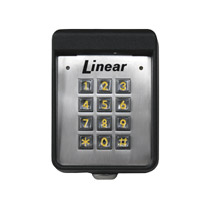 ACP00748 LINEAR AK11 OUTDOOR SURFACE KEYPAD 120 USERS ************************* SPECIAL ORDER ITEM NO RETURNS OR SUBJECT TO RESTOCK FEE *************************