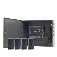 EL36-4MB LINEAR eMerge Elite-36 4-door system bundle, includes four P-300HA proximity readers, up to 20,000 cardholders with up to 80,000 cards, up to 8 readers, browser-based management via embedded Web server, upgradable up to 36 doors and 72 readers with license keys and plug-in modules or expansion nodes, easy setup wizard, optional PoE power with E3-POE module, housed in a locking metal cabinet with integrated tamper switch. 620-100259 ************************* SPECIAL ORDER ITEM NO RETURNS OR SUBJECT TO RESTOCK FEE *************************