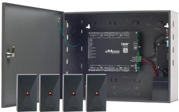 ES-4MB LINEAR EMERGE ESSENTIAL PLUS 4-DOOR W/ 4 READER BUNDLE SYSTEM 620-100220 ************************* SPECIAL ORDER ITEM NO RETURNS OR SUBJECT TO RESTOCK FEE *************************
