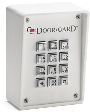SS-KP500R-WH LINEAR RUGGED ACCESS CONTROL KEYPAD USE WITH MINIMAX/HUBMAX ACCESS WHITE 0-295150 ************************* SPECIAL ORDER ITEM NO RETURNS OR SUBJECT TO RESTOCK FEE *************************