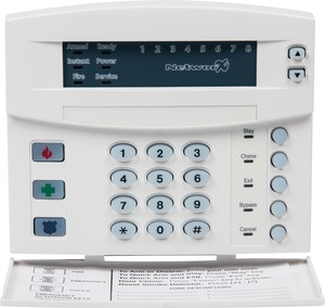 "NX-1308E UTC 8-ZONE LED KEYPAD W/DOOR TRADITIONAL DESIGN. 6.2"" W X 5.3"" H X 1.3"" D. SWING-DOWN REMOVABLE DOOR CONCEALS CONTROLS, WHITE ************************* SPECIAL ORDER ITEM NO RETURNS OR SUBJECT TO RESTOCK FEE *************************"