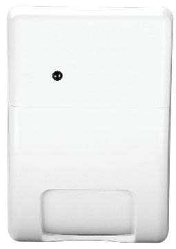 NX-482 UTC AP750W WIRELESS PIR MOTION SENSOR PASSIVE INFRARED DETECTION INSIDE AN ENCLOSED STRUCTURE. COVERAGE AREA AND SENSITIVITY MODES ARE FIELD-SELECTABLE. 33' OR 50' COVERAGE AREA. COVER-ACTIVATED TAMPER