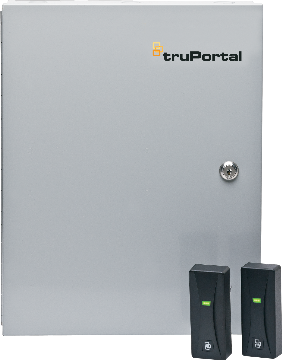 TP-ADD-2D UTC TruPortal 2-Door Add-on kit. Consists of a TruPortal 2-Door Interface Module installed in UL listed enclosure w/ 4 AMP power supply.