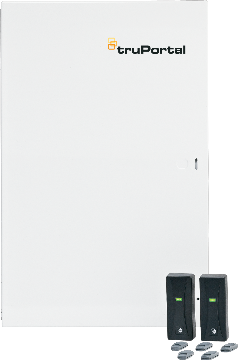 TP-ADD-4D UTC TruPortal 4-Door Add-on kit. Consists of (2) TruPortal 2-Door Interface Modules installed in UL listed enclosure w/ 4 AMP power supply(NOT FOR LOCKS)- No readers ****************************** SPECIAL ORDER ITEM NO RETURNS OR SUBJECT TO RESTOCK FEE *************************