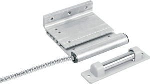 "2302A-L UTC CURTAIN DOOR TRACK MOUNT CONTACT W/ ARMORED CABLE, UP TO 3"" GAP SIZE, CLOSED LOOP: NORMALLY OPEN FORM A"