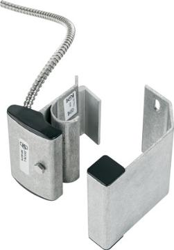 "2317A-L UTC OVERHEAD/PANEL DOOR TRACK MOUNT CONTACT W/ARMORED CABLE, SPDT, UP TO 3"" GAP SIZE. OPEN OR CLOSED LOOP; SINGLE POLE-DOUBLE THROW. 2' STAINLESS STEEL ARMORED CABLE. FORM C ************************* SPECIAL ORDER ITEM NO RETURNS OR SUBJECT TO RESTOCK FEE *************************"