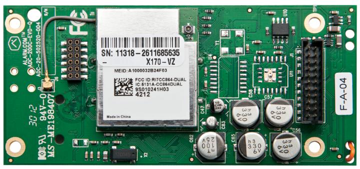 600-1048-XT-ZX-TM UTC ALARM.COM GSM radio for XT/XTI w/ZWAVE and Image Sensor ready (T-Mobile) 3G