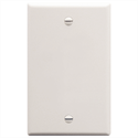 IC630EB0WH ICC FACEPLATE, 1-GANG, BLANK, WHITE