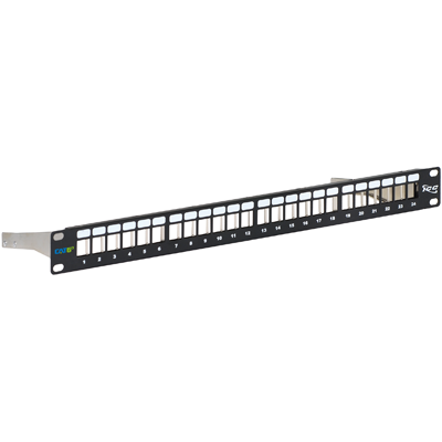 IC107PPS6A ICC PATCH PANEL, BLANK,CAT 6A FTP,24PORT,1RMS ************************* SPECIAL ORDER ITEM NO RETURNS OR SUBJECT TO RESTOCK FEE *************************