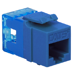 IC1078F5BL ICC HD CAT5E MODULAR INSERT - BLUE ************************* SPECIAL ORDER ITEM NO RETURNS OR SUBJECT TO RESTOCK FEE *************************