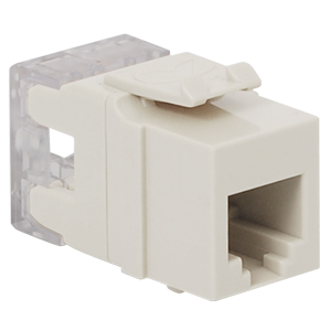 IC1076F0WH ICC HIGH DENSITY CAT3 VOICE INSERT - WHITE ************************* SPECIAL ORDER ITEM NO RETURNS OR SUBJECT TO RESTOCK FEE *************************