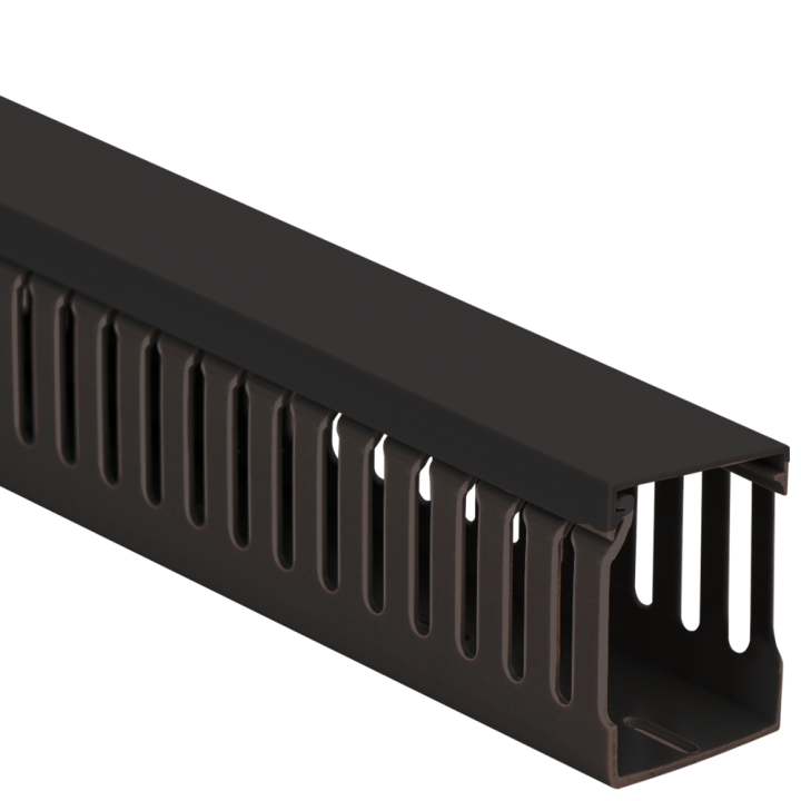 """ICRWL226BK ICC WALL DUCT SLOTTED 2""""X2"""" 6' LENGTHS - 120'/BX - BLACK ************************* SPECIAL ORDER ITEM NO RETURNS OR SUBJECT TO RESTOCK FEE *************************"""