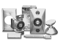 DHS-1224C UTC SURFACE MOUNT DOOR HOLDER, CHROME, 12 OR 24VDC/AC ************************* SPECIAL ORDER ITEM NO RETURNS OR SUBJECT TO RESTOCK FEE *************************