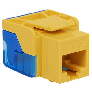 IC1078E5YL ICC JACK CAT 5 ENHANCED 8P8C YELLOW ************************* SPECIAL ORDER ITEM NO RETURNS OR SUBJECT TO RESTOCK FEE *************************