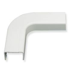 "ICRW11EOWH ICC 3/4"" FLAT ELBOW 90 FOR RACEWAY, WHITE (BOUGHT IN 10 SOLD SINGLE)"